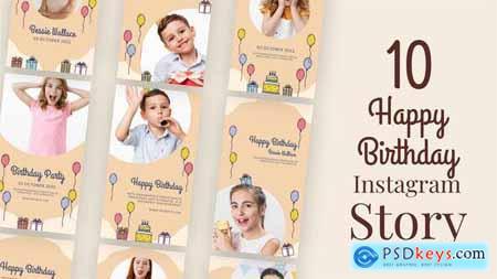 Happy Birthday Instagram Stories 34038016