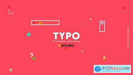 Typographic Logo Reveal 33580227
