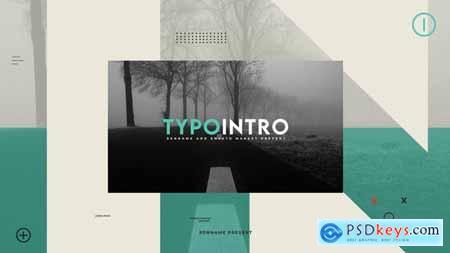 Typographic Clean Intro 33785758