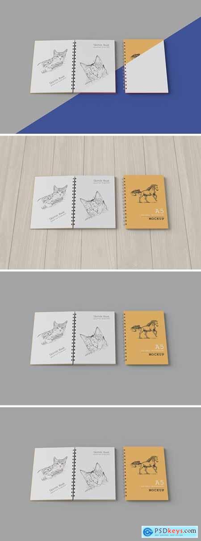 Spiral Notebook - Mockup