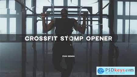 Crossfit Stomp Opener - After Effects Template 33676976