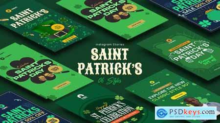 Saint Patricks Day Instagram Stories 34083316