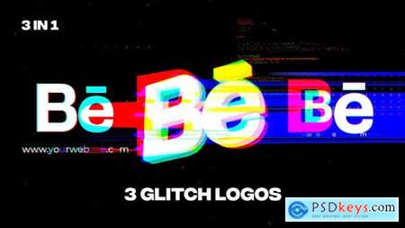 Glitch Logos 34096341