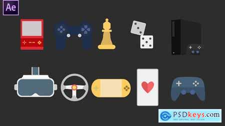 Gaming Icons 34094888