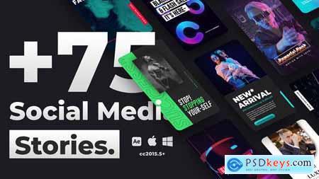 75+ Social Media Stories 34096082