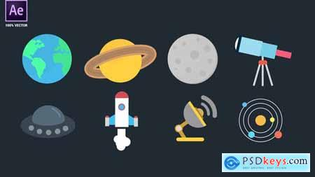 Space Icons Pack 34094908