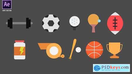 Sport Animated Icons 34095066