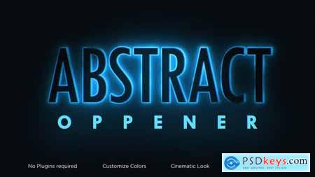 Abstract Classic Opener 34093112