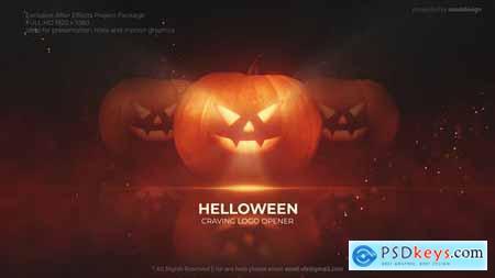 Pumpkin Helloween Logo Opener 34112070