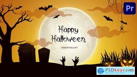 Happy Halloween Party Mogrt 163 34122680