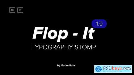 Flop It Typography Premiere Pro 34117838