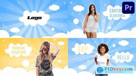 Pretty Slideshow Premiere Pro MOGRT 34117903