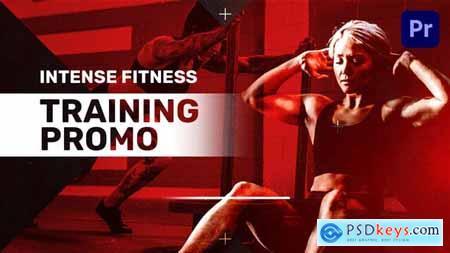 Intense Fitness Training Promo Mogrt 34112857