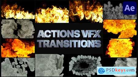 Smoke And Fire Transitions - After Effects 30139156