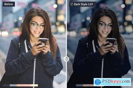 Dark LUTs Final Cut, Premiere Pro 6452215