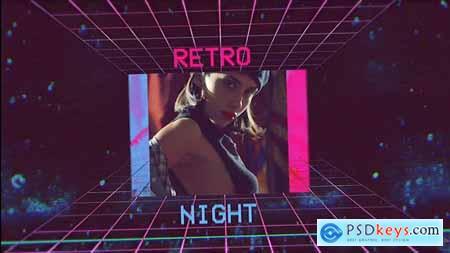 Retro Wave Intro 33940998