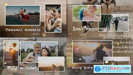 Happy Moments Slideshow FCPX 34001053