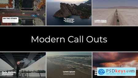 Modern Call Outs FCPX & Apple Motion 33962159