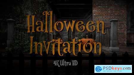 Halloween Party Invitation 34145976