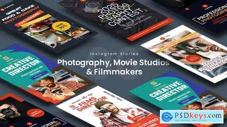 Photography, Movie Studios & Filmmakers Instagram Stories 34145039