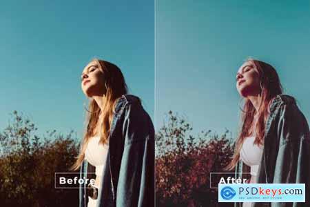 Tilt Shift Cinematic Photoshop Action