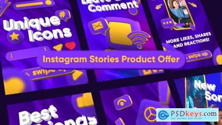Instagram Stories Product Offer 34147924