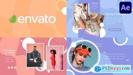 Fashion Liquid Slideshow - After Effects 34164886