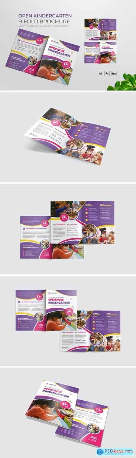 Open Kindergarten Bifold Brochure