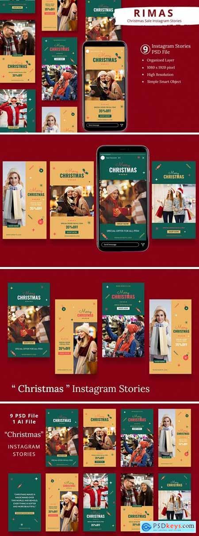 Rimas - Christmas Sale Instagram Stories