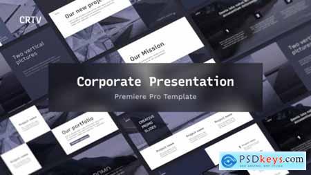 CRTV Clean Corporate Presentation For Premiere Pro 33473244