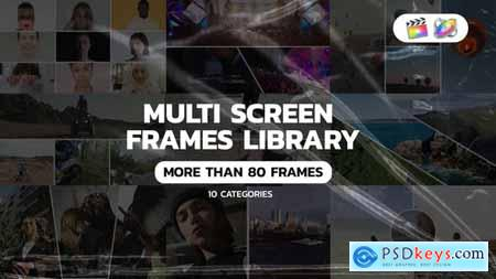 Multi Screen Frames Pack for Apple Motion and FCPX 34150624