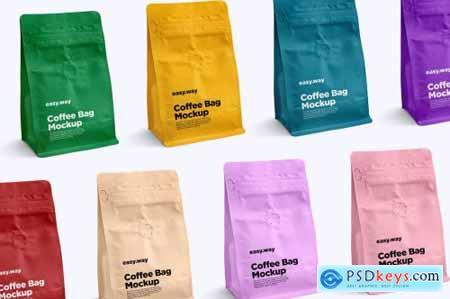Coffee Bag PSD Mockups 6024410