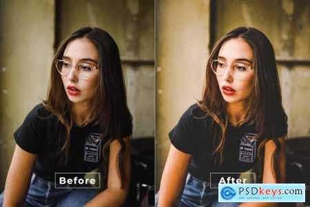 Boho Cinematic Photoshop Action