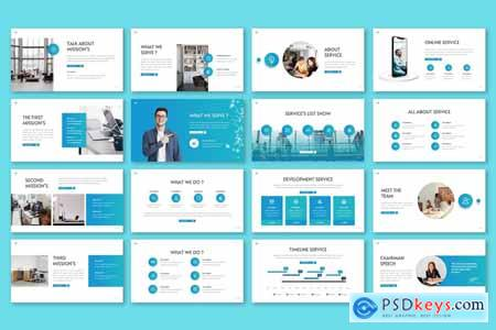 Curvana - Simple Powerpoint, Keynote and Google Slides Template