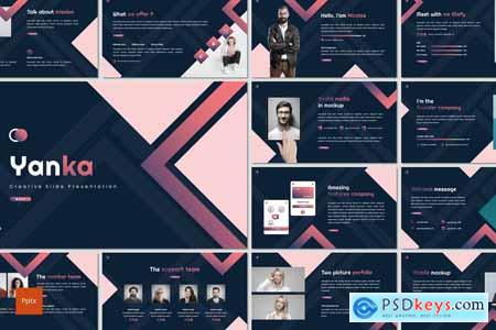 Yanka - Creative Powerpoint, Keynote and Google Slides Template